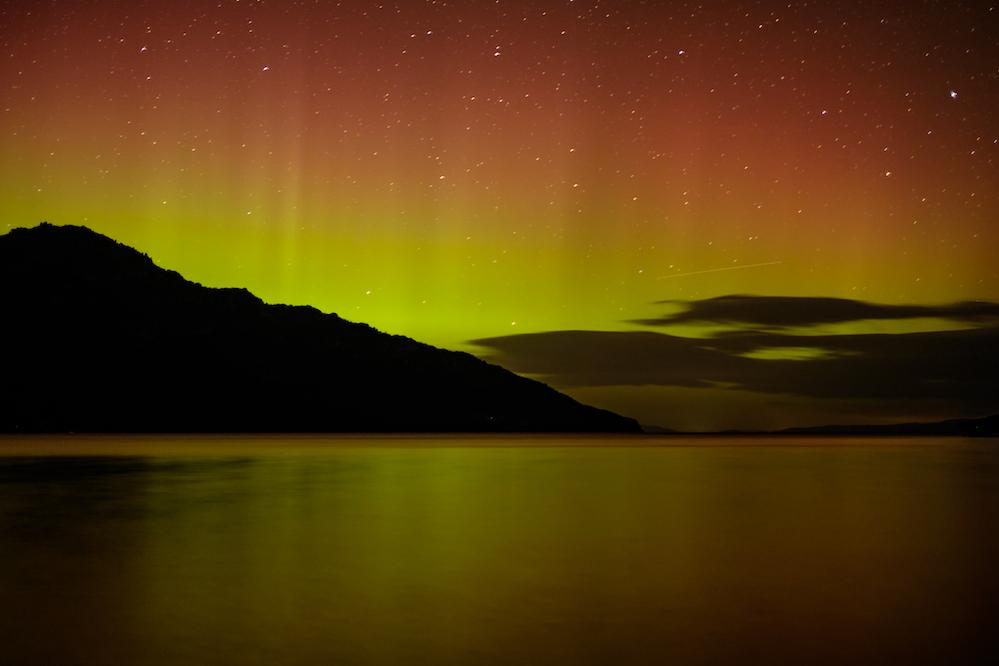 Aurora Australis, Southern Lights, Puddlehub